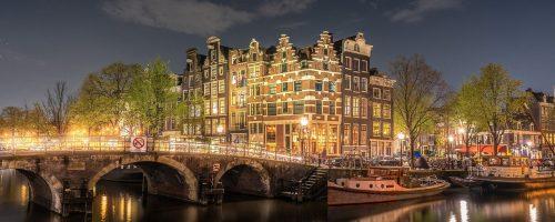 bridge, river, architecture
